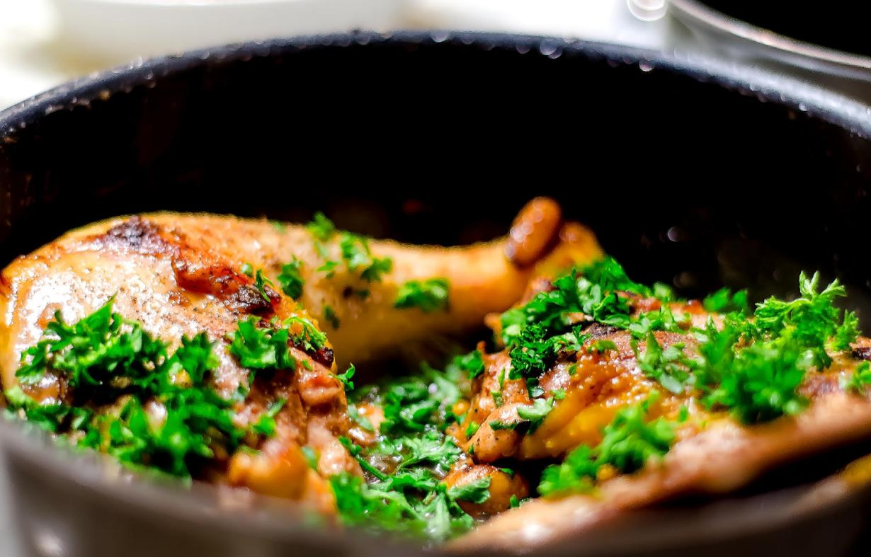 Simple Poulet Vallée D'Auge Recipe - French Chicken Recipe from Normandy