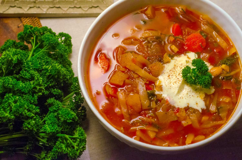 Vegetarian Borscht Recipe