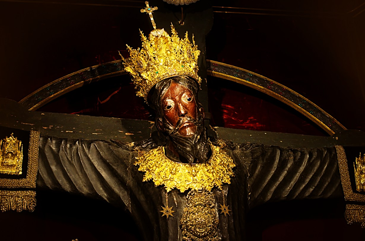 Volto Santo - The holy Face - in Cathedral of St. Martin, Lucca