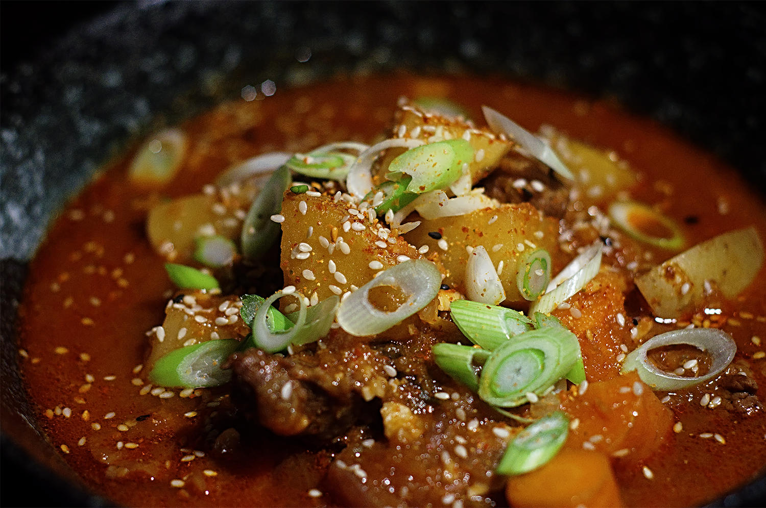 Korean Beef Stew Yukgaejang Recipe