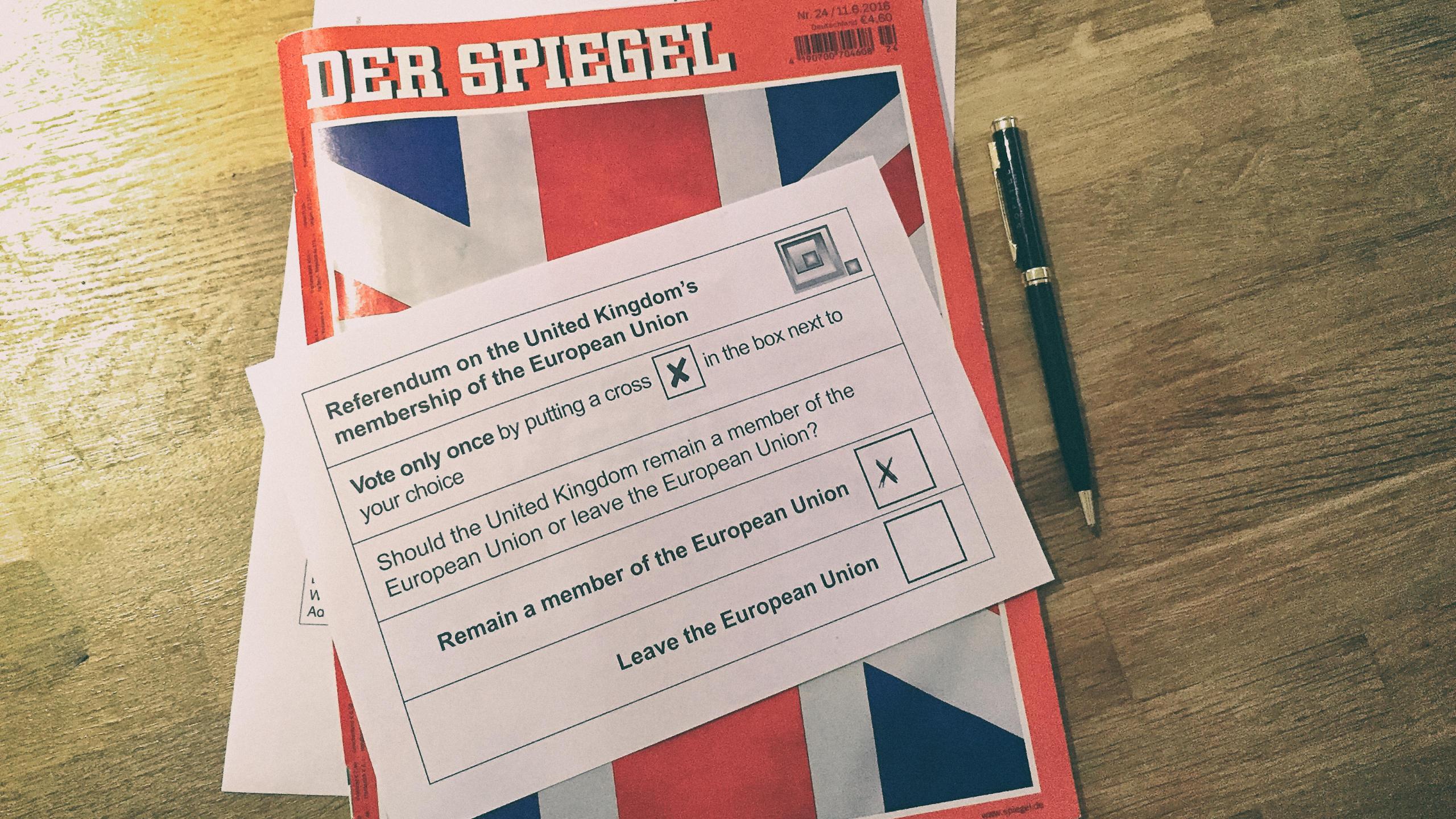 Der Spiegel Referendum