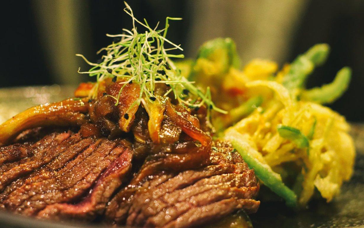 Beef and tempura at Maruya in Bordeaux