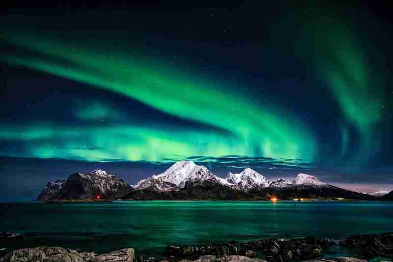 northern lights hidden gem in europe