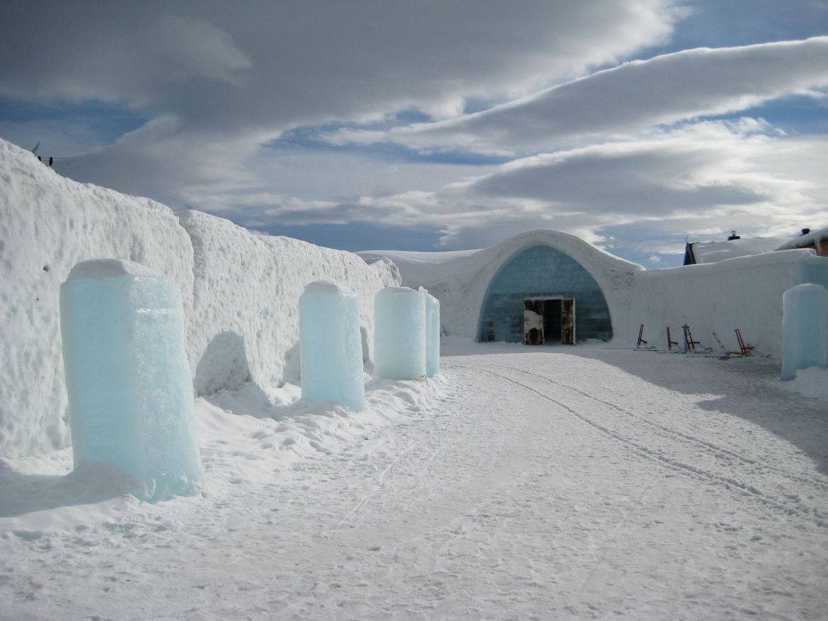 The Icehotel hotels in Europe