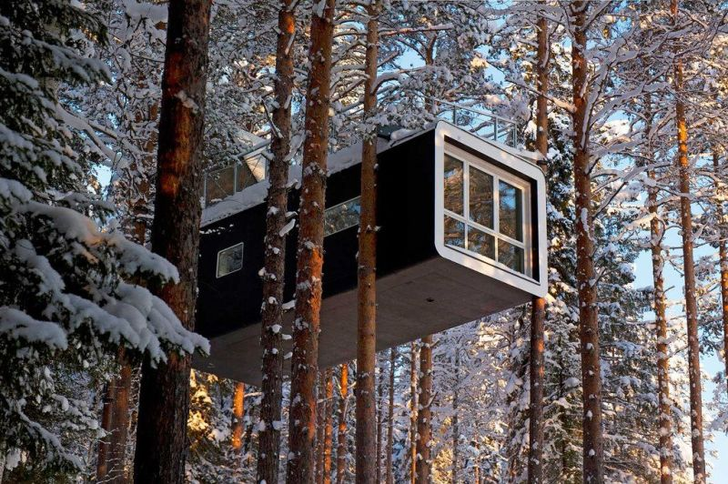 Treehotel in Harads hotels in europe