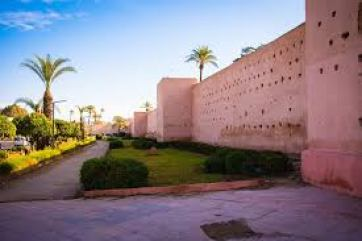 Filming location for Marrakesh