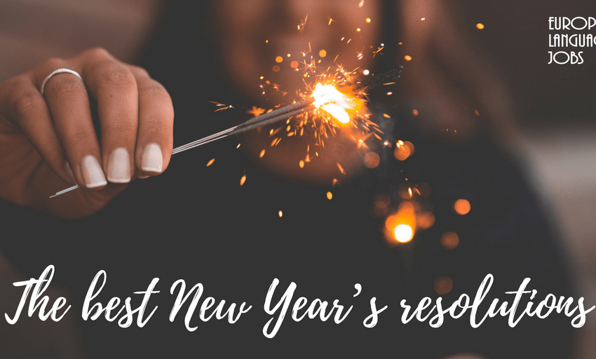 The best New Year's resolutions