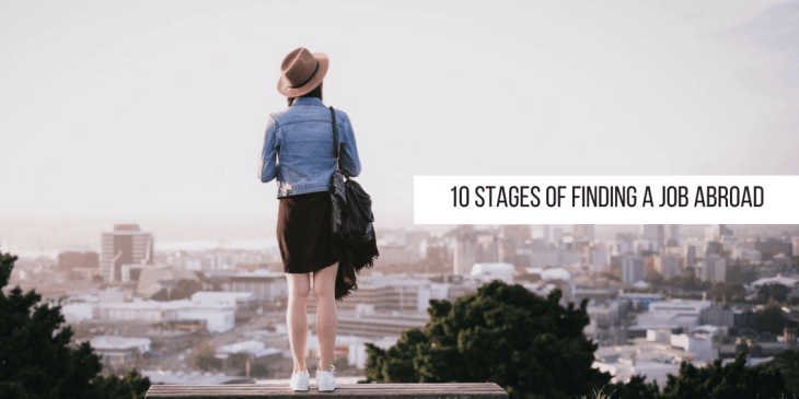 10 stage of finding a job abroad