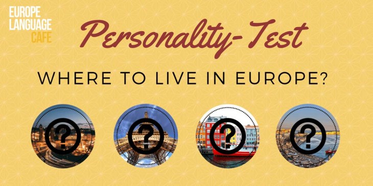personality test: where to work in Europe