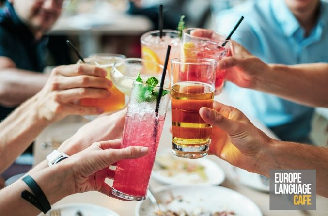 Drinking Idioms: Drink your way around Europe!
