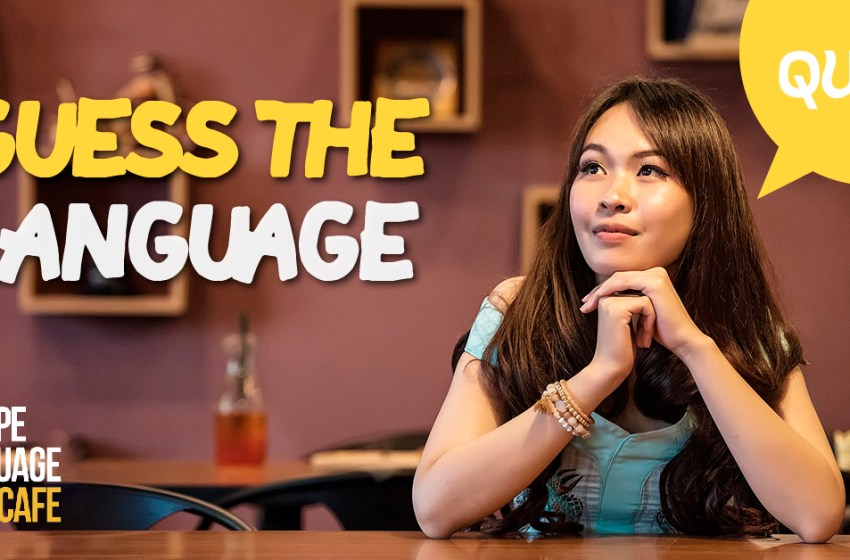 Quiz: Guess the Language Quiz