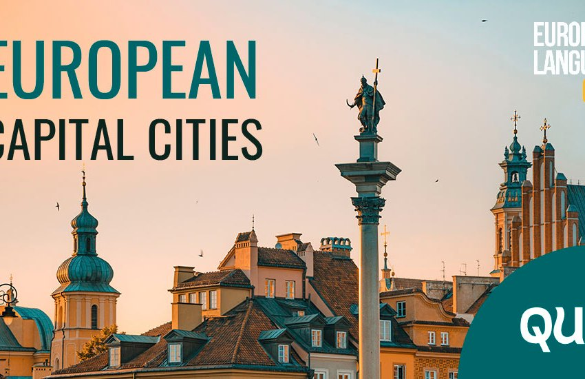 Geography Quiz: European Capital Cities