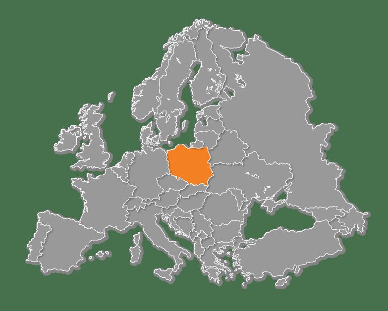 european map quiz poland