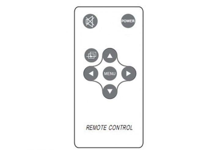 8/12 Keys Remote Control For Lilliput Monitor 667GL-70