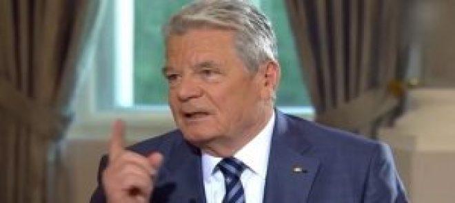 GermanPresidentJoachimGauck