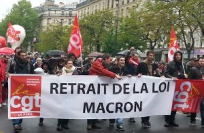 LoiMacronprotest