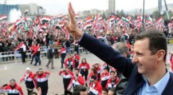 Assadcheered