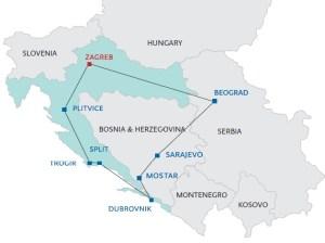 9 Day Tour of Croatia Bosnia and Serbia