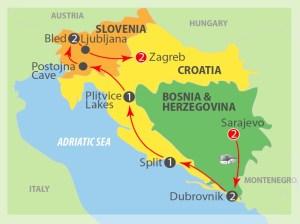 Bosnia, Croatia & Slovenia