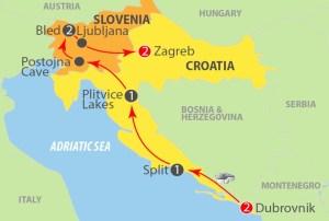 Croatia & Slovenia Tour