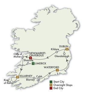 The Irish Heritage & Dromoland Castle Tour