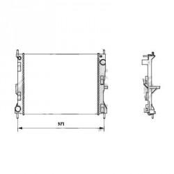 Radiateur refroidissement du moteur Nissan Micra K12 05-10