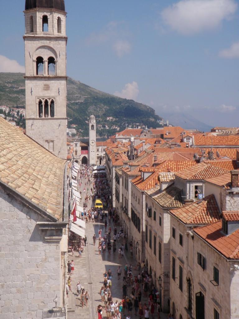 Dubrovnik, city view