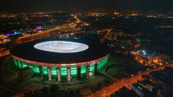 Rund 4% des landes sind bewaldetes gebiet. Puskás Aréna - Stadion in Budapest