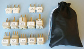 WA-World-Kit-14, 14 Plug Adapter Kit