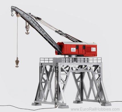 Roco 41290 HO Digital Portal Crane and Accessory