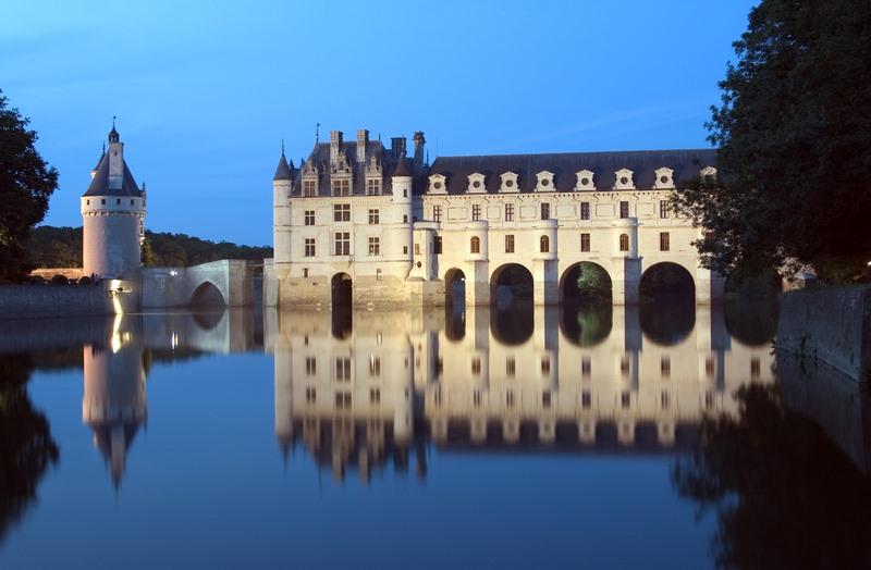 Kasteel Van Chenonceau In De Loirestreek Bezoeken