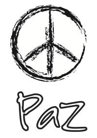 Dibujos Da de la Paz para colorear - Manualidades
