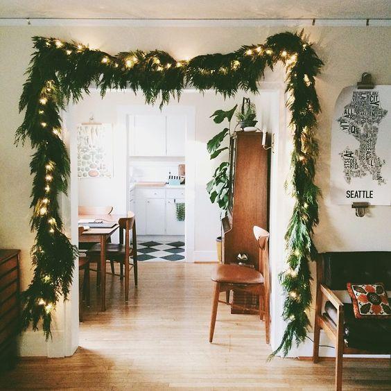8 Ideas para decorar tu saln estas Navidades  Decoracion en el hogar