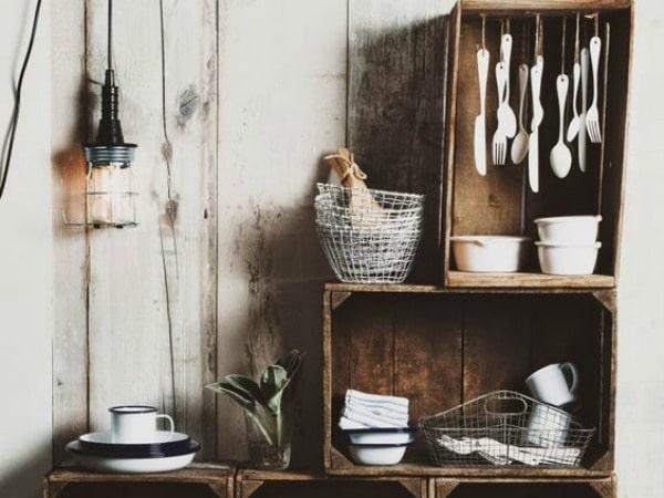 17 Ideas de cajones reciclados para decorar tu casa  Decoracion en el hogar