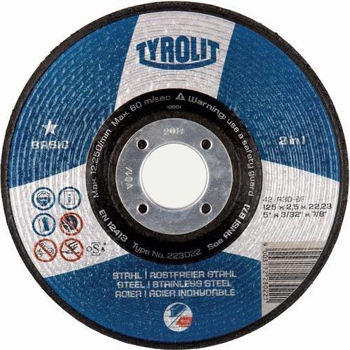 Tyrolit 115 X 2.5mm Cutting disc