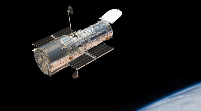 Hubble Space Telescope – establishing an innovative model of public outreach