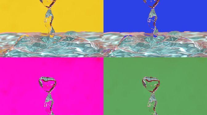 Wharolian Droplet