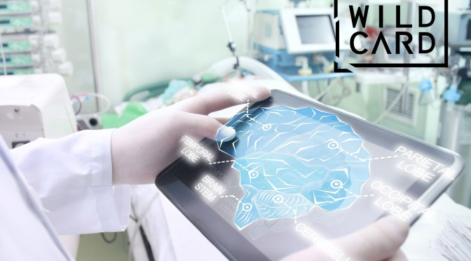 Wild Card initiative: Doctor examines the patient's brain with the help of modern technology