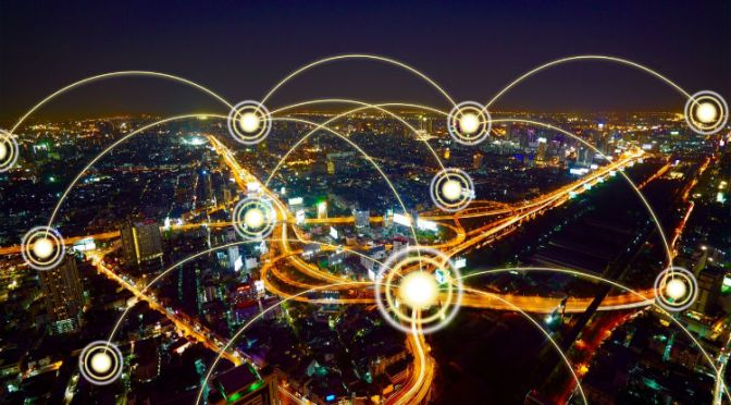General IoT connections across a city can be improved with the help of blockchain