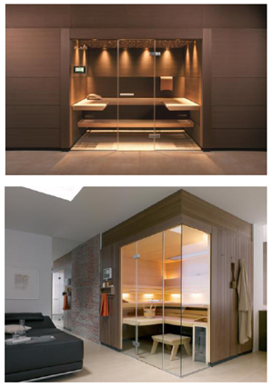 Klafs promotes sauna as lifestyle furniture