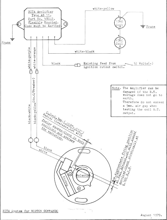71 norton commando wiring diagram