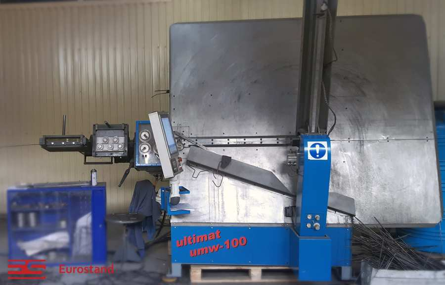 Автоматический станок для гибки проволоки UMW-100