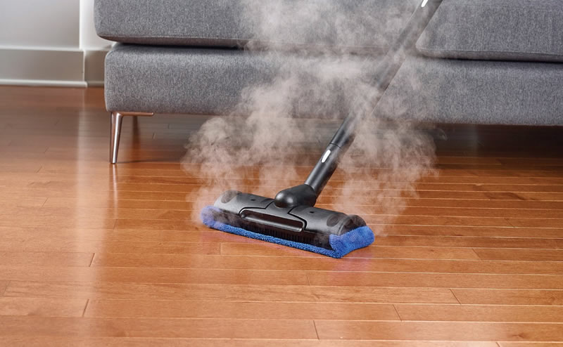 Sealed Hardwood Floors and Steam Cleaning are a Great
