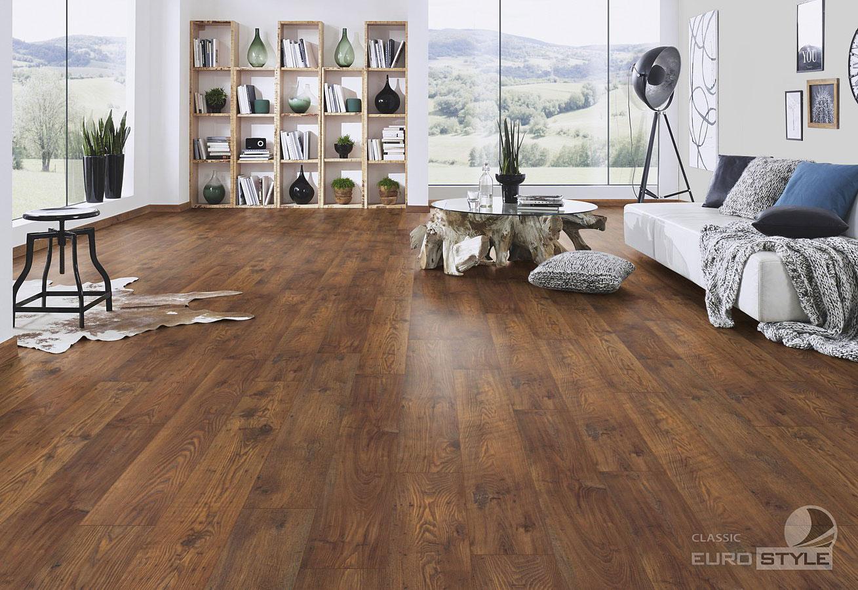 Classic Laminate Floors  Bakersfield Chestnut  EUROSTYLE