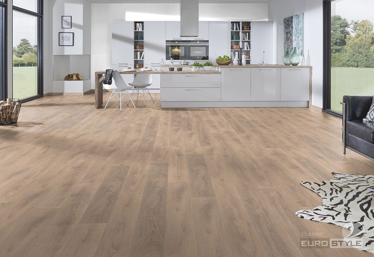 Classic Laminate Floors  Blonde Oak  EUROSTYLE Flooring