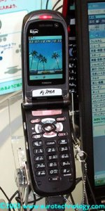 DoCoMo FOMA 3G cell phones