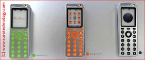 "AU/KDDI Design Series Concept Phones ""talby"" design by Marc Newson"