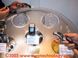 DoCoMo Wristomo (combined wrist watch and PHS mobile phone)