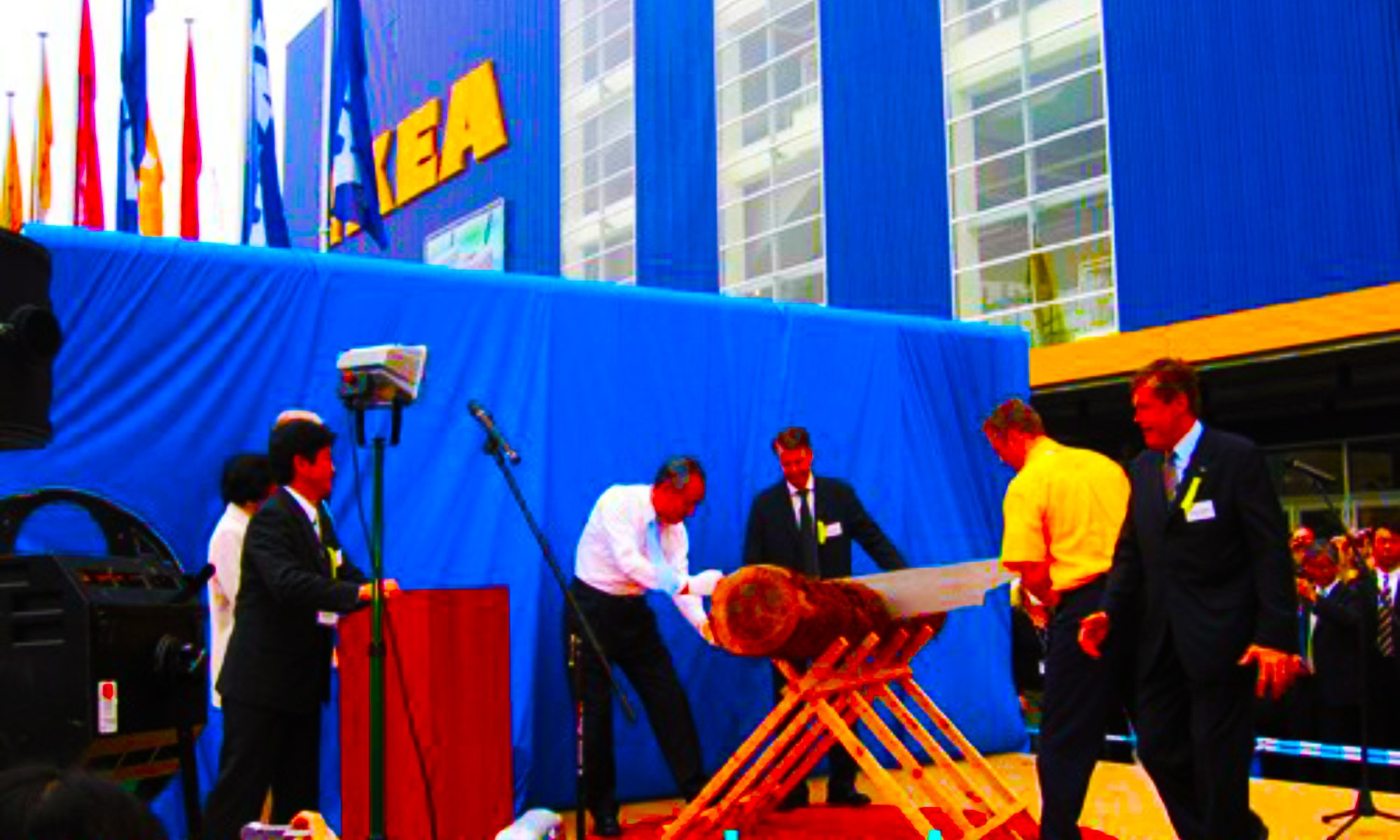 IKEA second market entry to Japan