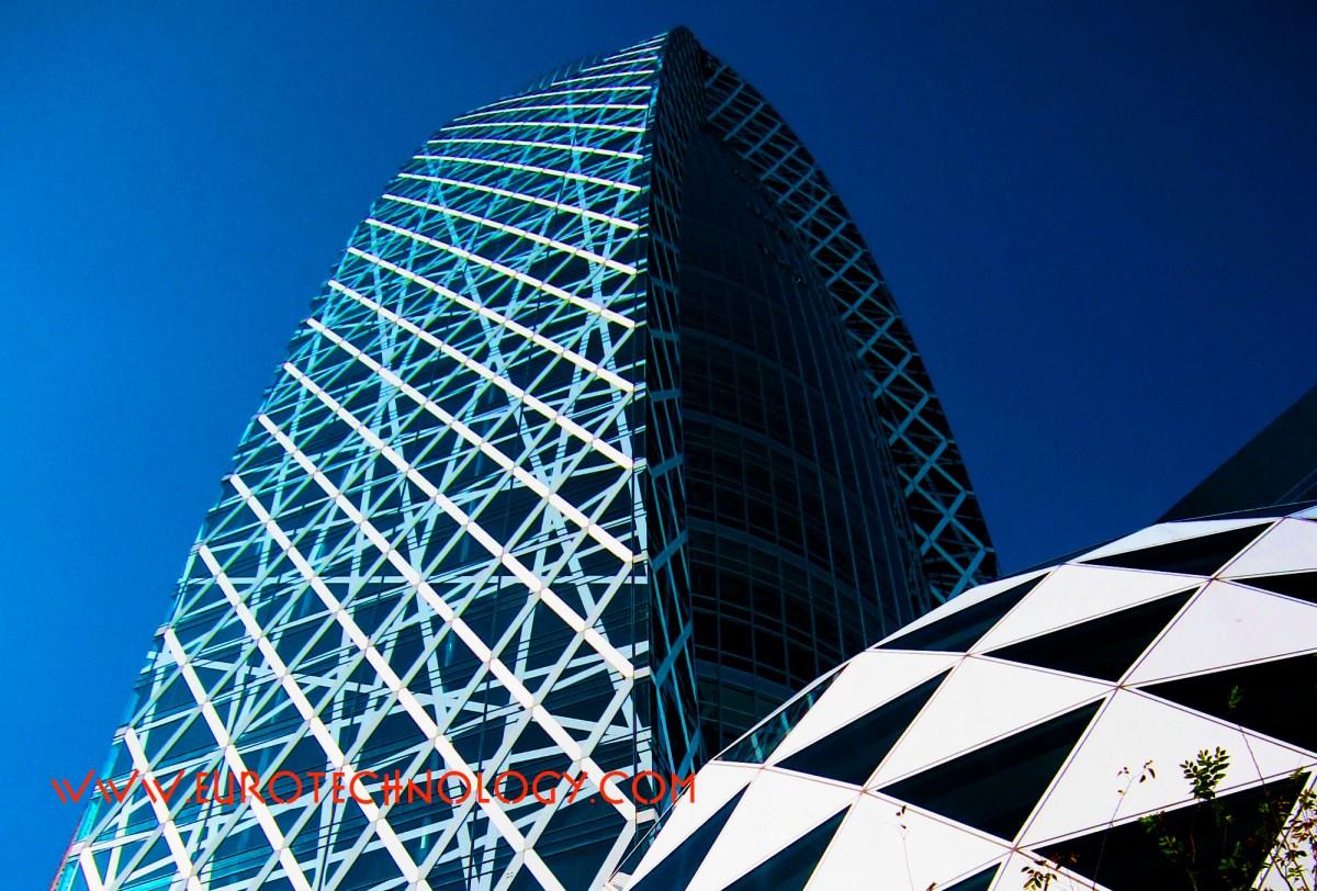 Modo Gakuen Cocoon Tower in Tokyo Shinjuku (モード学園コクーンタワー)